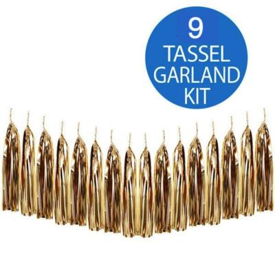 Gold Tassel Garland Kit