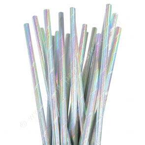 Iridescent Straws – 25 Pk